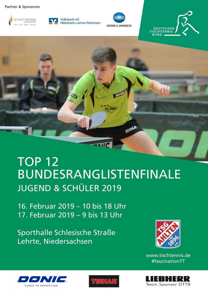 Plakat TOP 12 in Lehrte